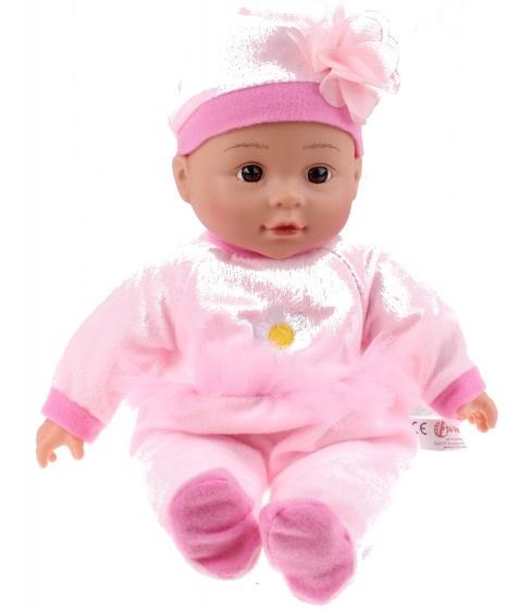 Toi Toys babypop met tuitbeker bloem