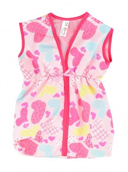 Toi Toys babypoppenkleding Cute Baby slaapzak hartjes roze