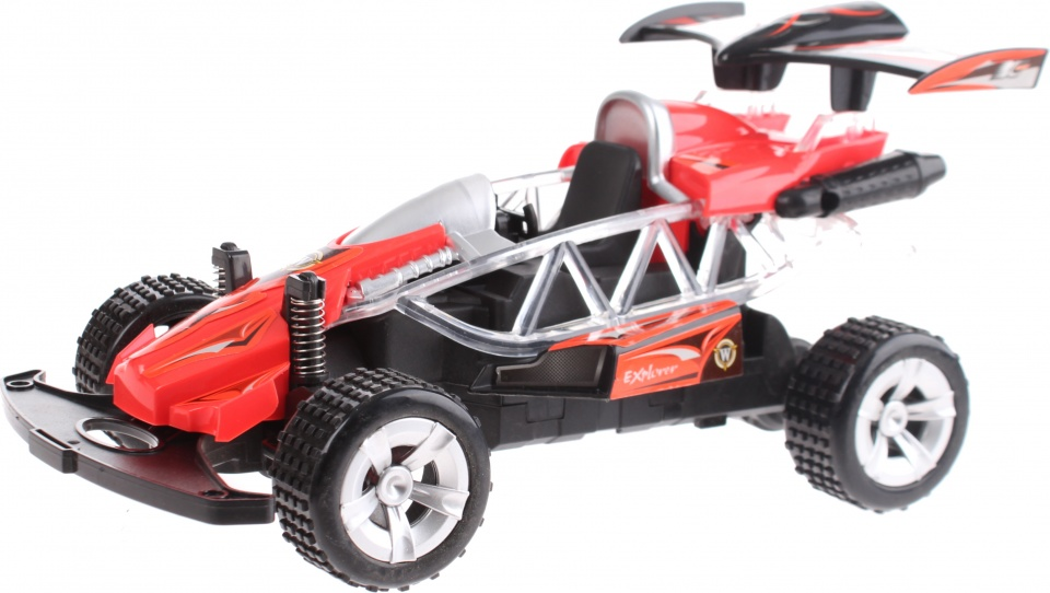 Toi Toys buggy radiografisch rood