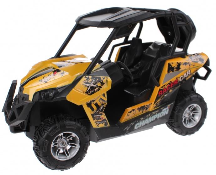 Toi Toys Buggy RC met licht radiografisch geel 22x12x13 cm