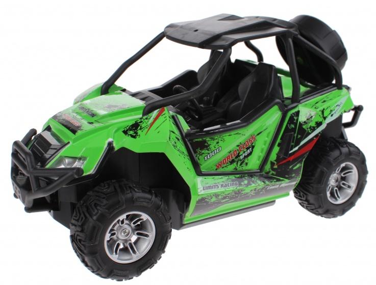 Toi Toys Buggy RC met licht radiografisch groen 22x12x13 cm