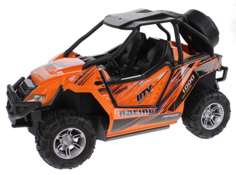 Toi Toys Buggy RC met licht radiografisch oranje 22x12x13 cm
