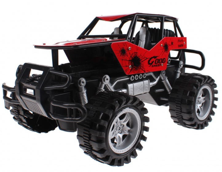 Toi-Toys Cross Country Car diecast 30 cm rood