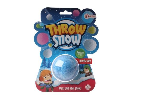 Toi Toys droge sneeuwbal junior blauw