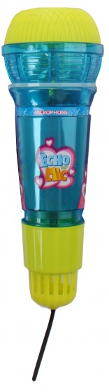 Toi Toys Echo microfoon met licht blauw 24 cm