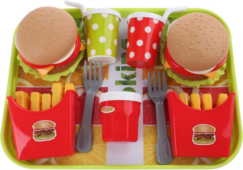 Toi Toys eetset Fastfood 10 delig