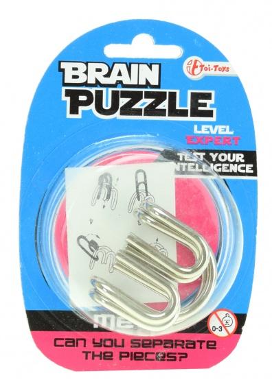 Toi Toys hersenkraker Brain Puzzle expert zilver