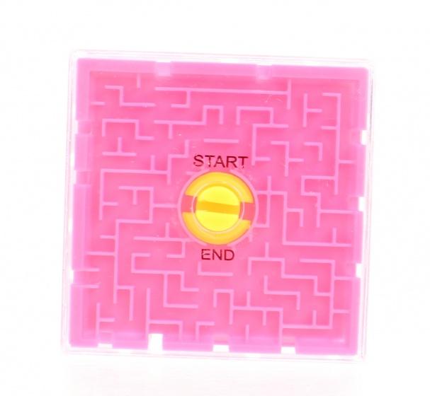 Toi Toys hersenkraker labyrinth puzzel 6 cm roze