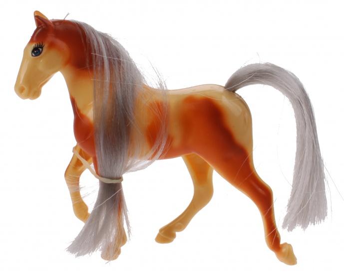Toi Toys Kaileys Paard 9 Cm Bruin/geel/grijs