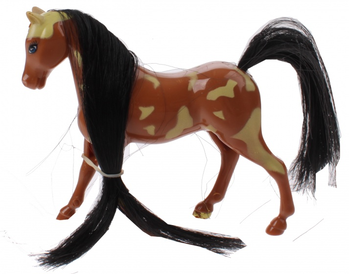 Toi Toys Kaileys Paard 9 Cm Bruin/zwart
