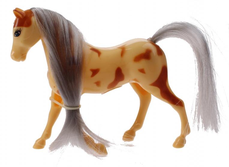 Toi Toys Kailey's paard 9 cm geel/grijs