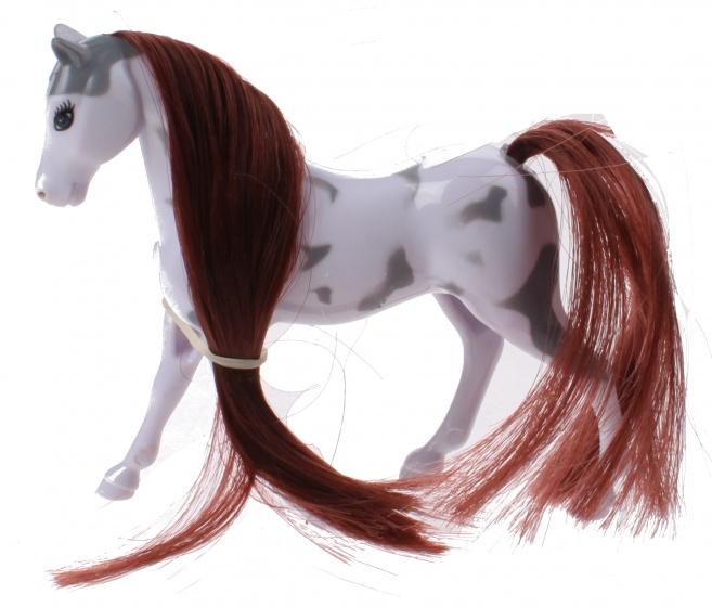Toi Toys Kaileys Paard 9 Cm Wit/bruin