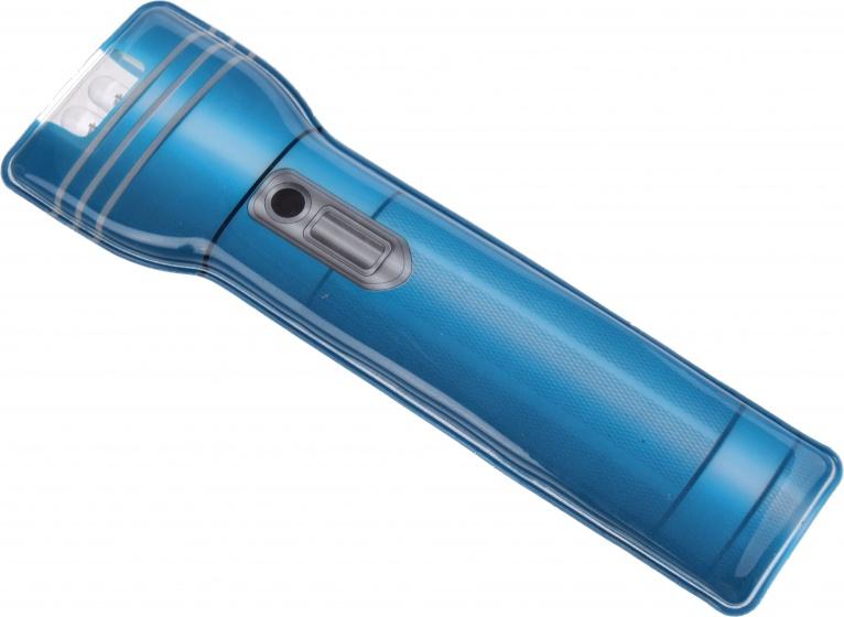 Toi Toys magnetische zaklamp 12 cm blauw