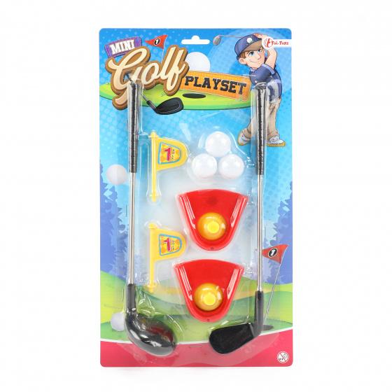 Toi Toys speelset mini golf Playset junior 7 delig
