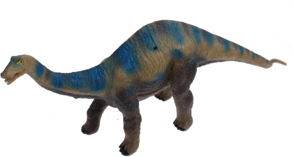 Toi Toys miniatuur dinosaurus blauw 15 cm