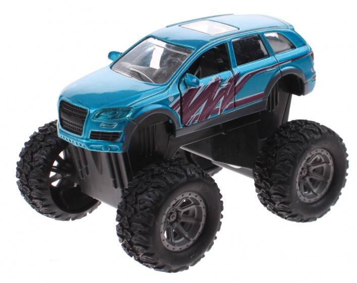 Toi Toys monstertruck diecast 8 x 5,5 x 6 cm blauw