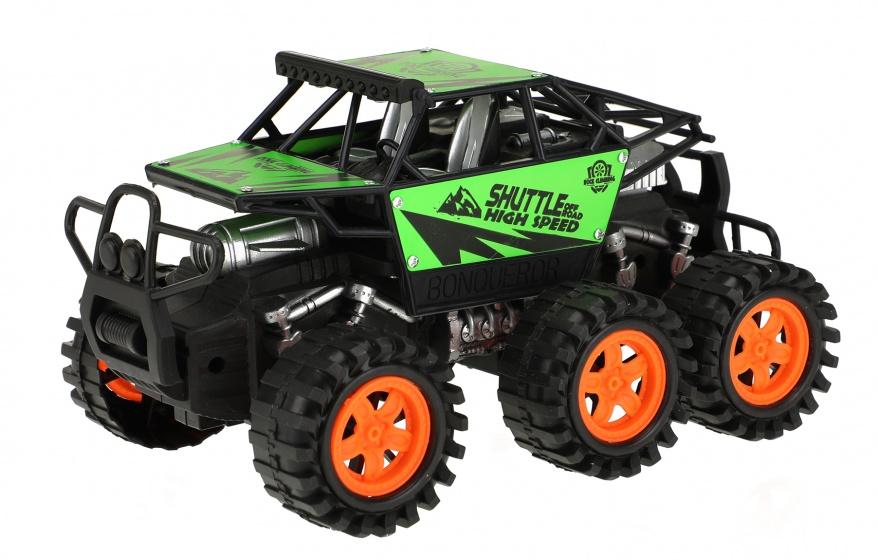 Toi Toys monstertruck Friction Power jongens 20 cm groen/zwart