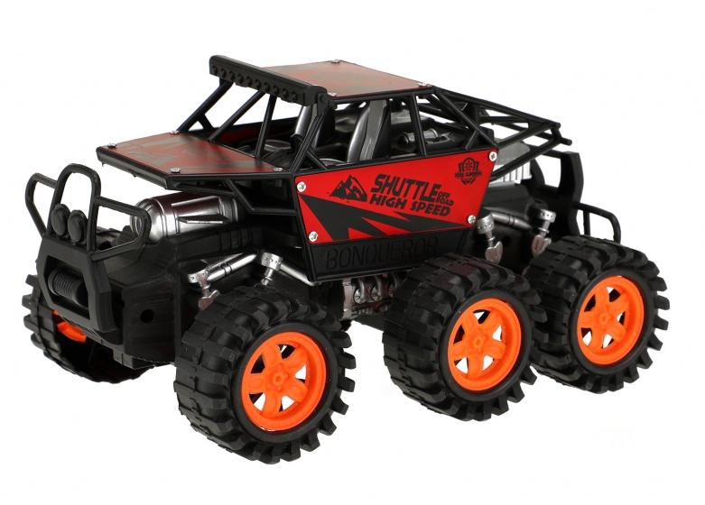 Toi Toys monstertruck Friction Power jongens 20 cm rood/zwart