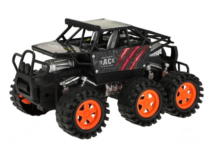 Toi Toys monstertruck Friction Power jongens 20 cm zwart/rood