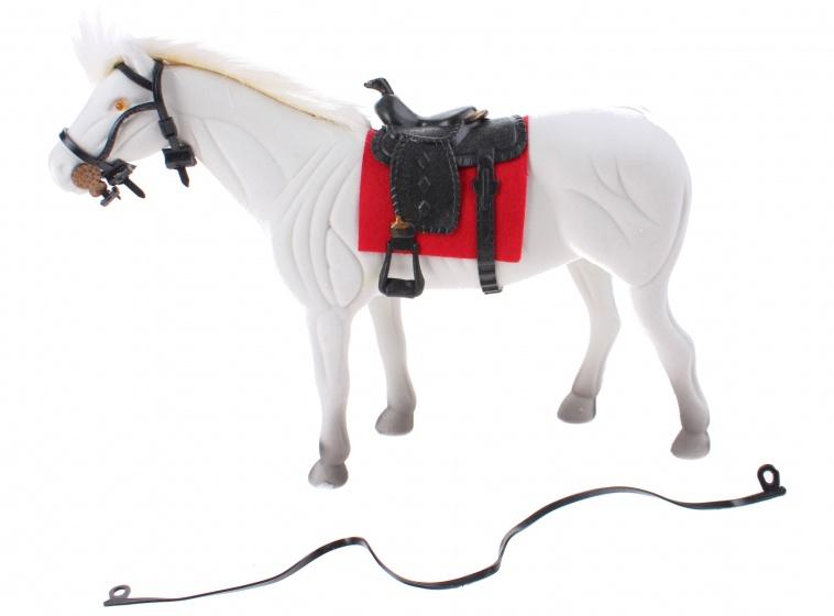 Toi Toys Paard Blauw 28 Cm Rood