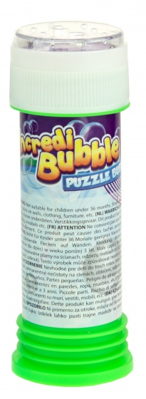 Toi Toys puzzel bellenblaas 75 ml groen
