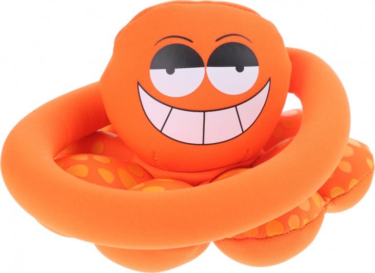 Toi Toys ringwerpspel octopus 17,5 cm oranje