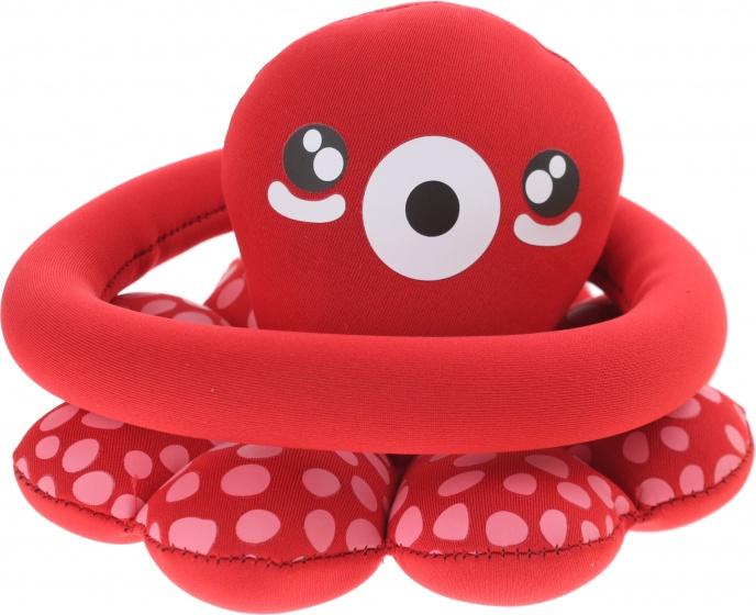 Toi Toys ringwerpspel octopus 17,5 cm rood