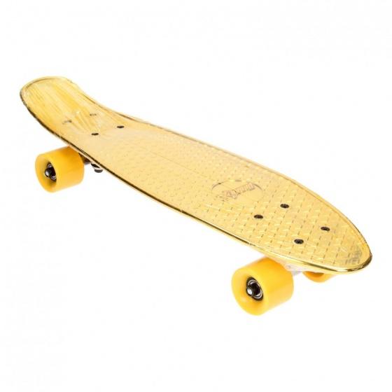 Toi Toys skateboard 60 cm goud