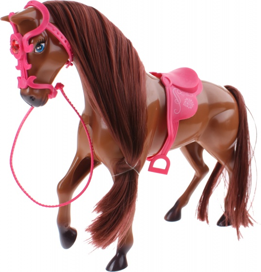Toi Toys Sofie Paard Met Borstel 25 Cm Bruin