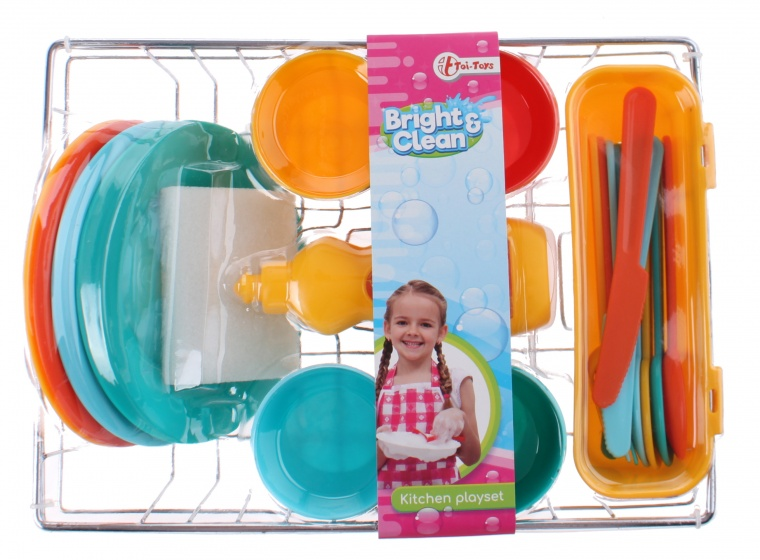 Toi Toys Speelset afwas 23 delig
