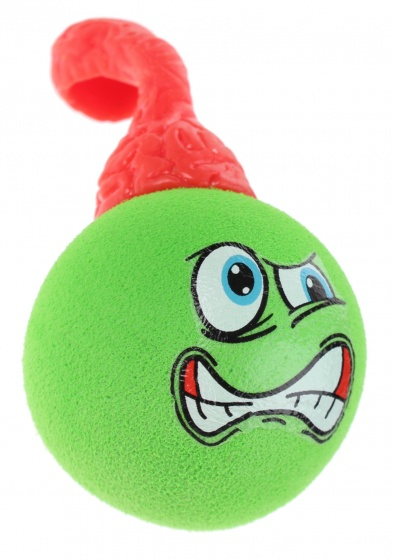 Toi Toys stretchy slingshot face ball 8 cm groen