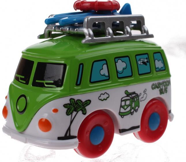 Toi Toys Surf Bus groen