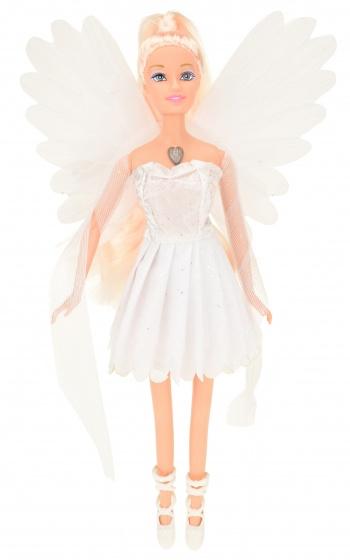 Toi Toys tienerpop Dream Fairy met licht meisjes 30 cm wit