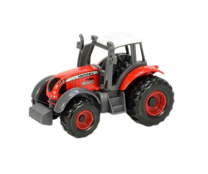 Toi Toys tractor Farm 8000 7 cm rood