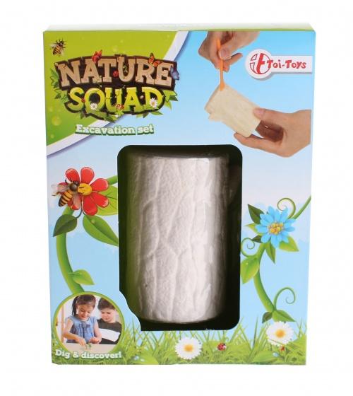 Toi Toys uithaksteen insecten 7 cm wit