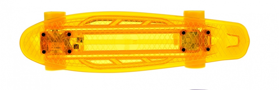 Toi Toys verlicht skateboard incl. accu 55 cm oranje