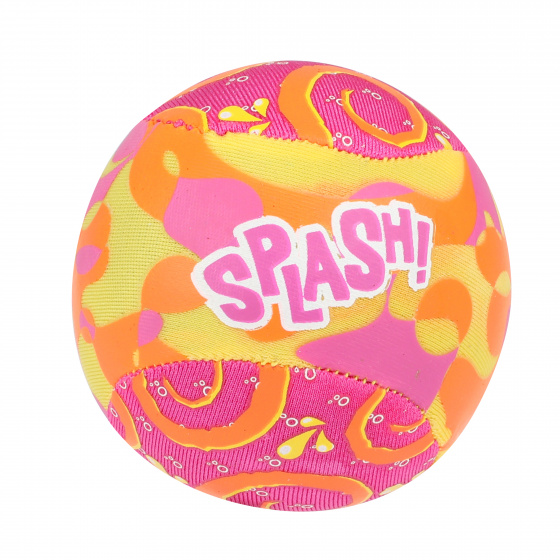 Toi Toys Waterstuiterbal Splash polyester roze/oranje