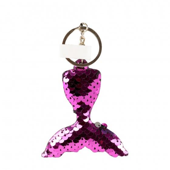 Toi Toys zeemeermin sleutelhanger 10 cm paars