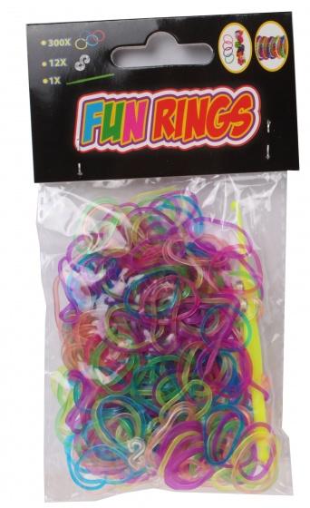 TOM Fun Rings armband vlechten multicolor 313 delig