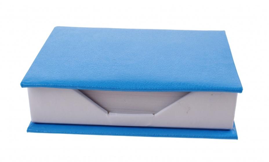 TOM memoblok met 200 blaadjes blauw kopen