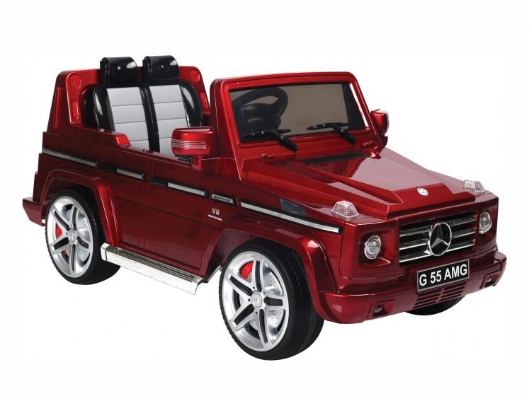 Accu voertuig Mercedes-Benz G55 rood