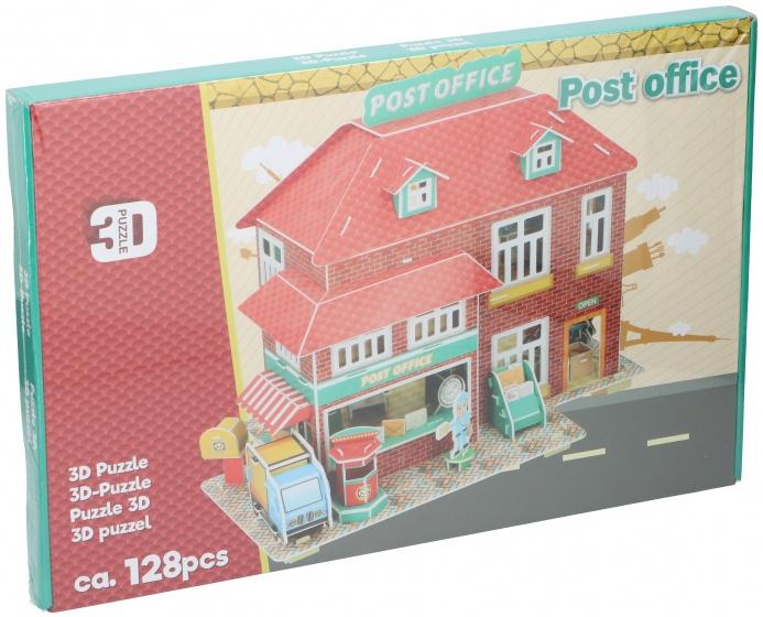 TOM puzzel 3D postkantoor 128 stukjes