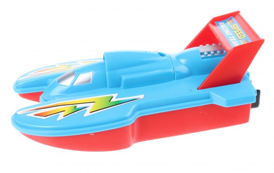TOM speedboot 15 cm blauw