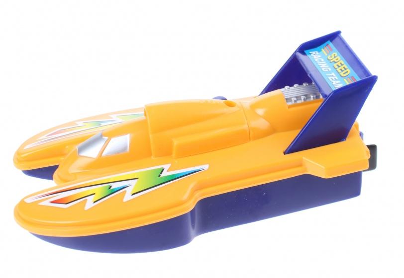 TOM speedboot 15 cm geel