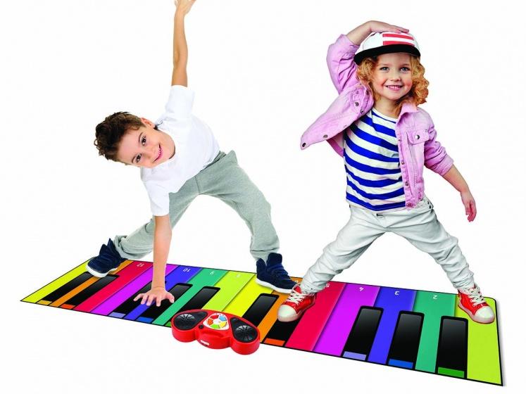 N Gear speelmat piano XXL 180 cm multicolor