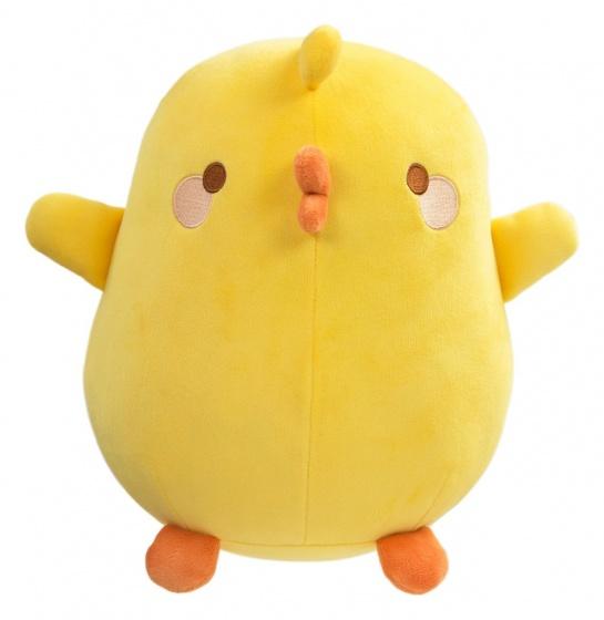 Tomy knuffelkuiken Piu Piu 47 cm geel
