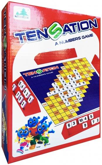Tong HUI reisspel Tensation: het nummer spel