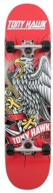 Tony Hawk Skateboard 180 Chrest Hawk rood