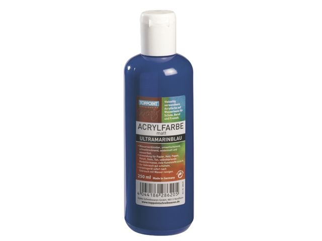 Toppoint Acrylverf 250ml Blauw