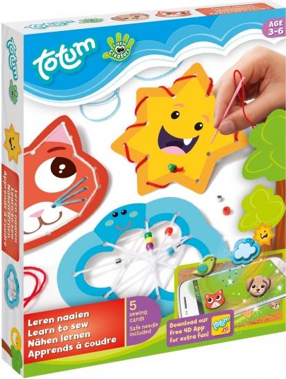 Totum Little Creators: sew 4D knutselset